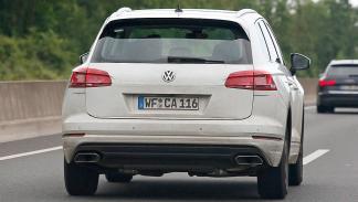 Volkswagen Touareg 2018 cazado trasera