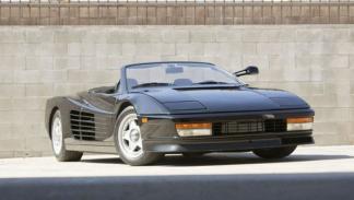 Ferrari Testarossa Spider del ´86 del anuncio Pepsi