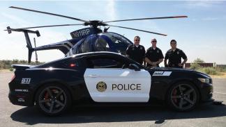 Saleen Ford Mustang Policía