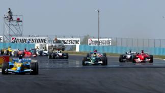 Alonso logra su primera victoria en el GP de Hungría 2003