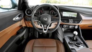 Prueba Alfa Romeo Giulia (interior)