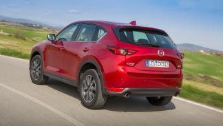 Prueba Mazda CX-5 (trasera)