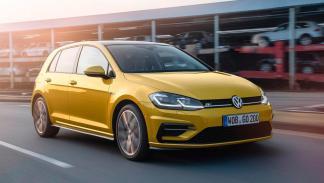 Volkswagen Golf 2017 compacto amarillo