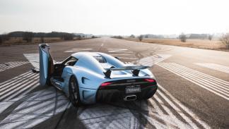 Coches que son un imán para los radares - Koenigsegg Regera
