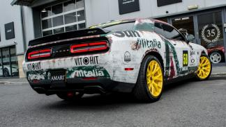 Dodge Challenger SRT Hellcat Rally Style