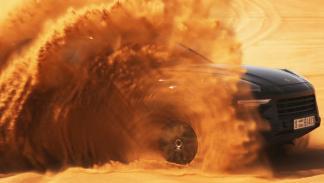 Porsche Cayenne 2018 - Fase de pruebas