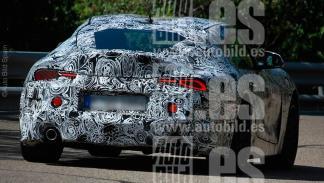 Toyota Supra 2018 fotos espía deportivo