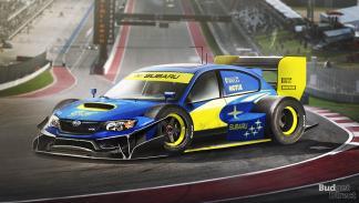 9 coches convertidos en monoplazas de fórmula 1 - Subaru Impreza WRX STI