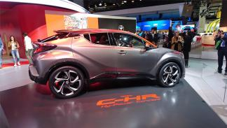 Toyota C-HR Hy-Power, en Frankfurt