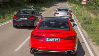 Audi RS 5 High-Performance-GT vs BMW M4 y Mercedes-AMG C 63