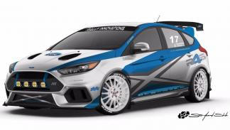 Ford Focus RS y ST SEMA 2017