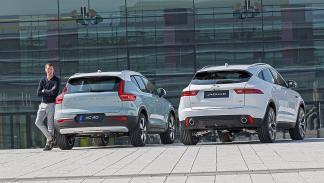 Jaguar E-Pace vs Volvo XC40