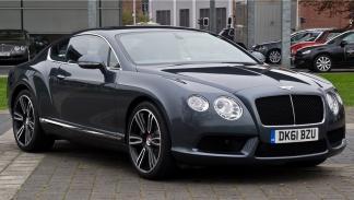Bentley Continental GT, de Paris Hilton