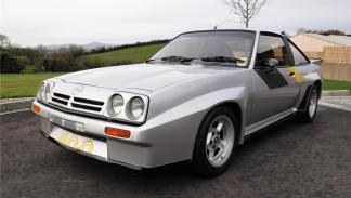Opel Manta 400 de rally, a subasta