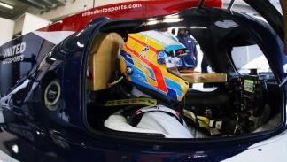 Test de Alonso con United Autosports