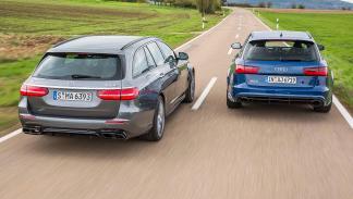 Comparativa: Mercedes AMG E 63 S Estate vs el Audi RS 6 Avant Performance