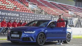 Entrega Audi FC Barcelona 2017