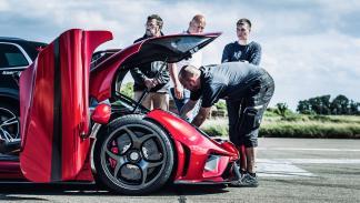 Prueba Koenigsegg Regera (preparativos)