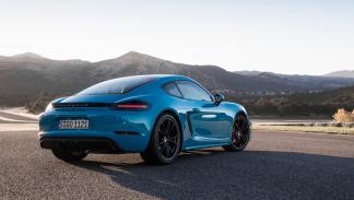Prueba Porsche 718 Cayman GTS (trasera)