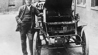 Coche de Thomas Edison