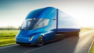 Camiones eléctricos vs Tesla