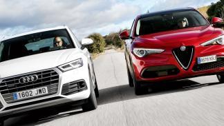 Comparativa Alfa Romeo Stelvio contra Audi Q5