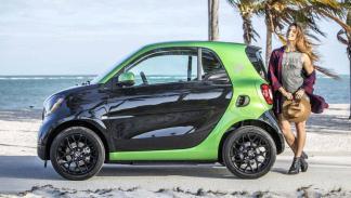 Los eléctricos más vendidos en 2017: Smart Fortwo - 418 unidades