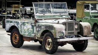 Land Rover Clásico preproducción