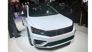 Salón de Detroit 2018: nuevo Volkswagen Passat GT delantera