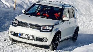 11 SUV en la nieve