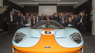 Entrega primer Ford GT de Europa