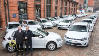 VW e-Golf para Hamburgo