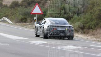 Fotos espía Porsche Mission E