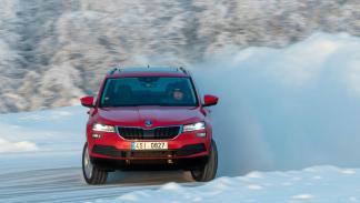Skoda Karoq Winter Test