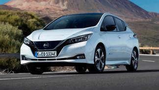 Nissan Leaf: 0-100 km/h en 7,9 s.