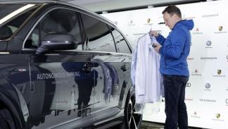 Volkswagen aparcamiento autónomo