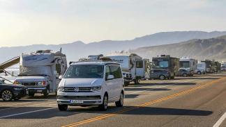 Ruta con la Volkswagen T6 California