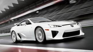 Los coches que más se han revalorizado en menos tiempo - Lexus LFA