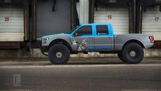 Ford F-350 Mega Raptor