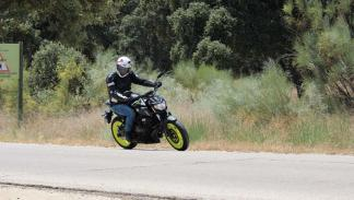 Prueba nueva Yamaha MT-07 2018