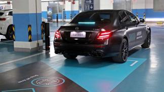 Aparcamiento automatizado Daimler y Bosch