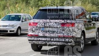 Fotos espia Audi Q7 2019