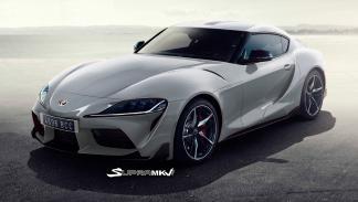 Nuevo Toyota Supra render (plata 2)