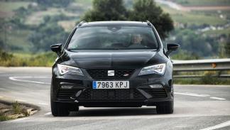 Seat León ST Cupra Black Carbon (frontal)