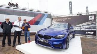 Marc Márquez gana un BMW M3 CS en los BMW M Award 2018