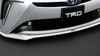 Nuevo Toyota Prius con accesorios TRD