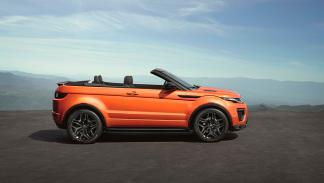 Prueba Range Rover Evoque cabrio lateral