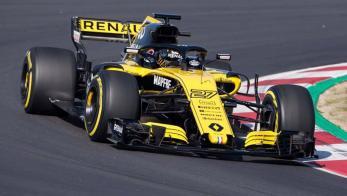 Renault F1 Barcelona
