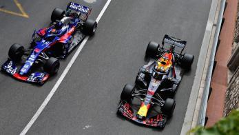 Red Bull y Toro Rosso Honda