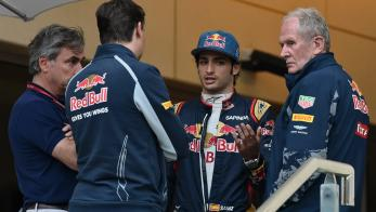 Sainz y Red Bull